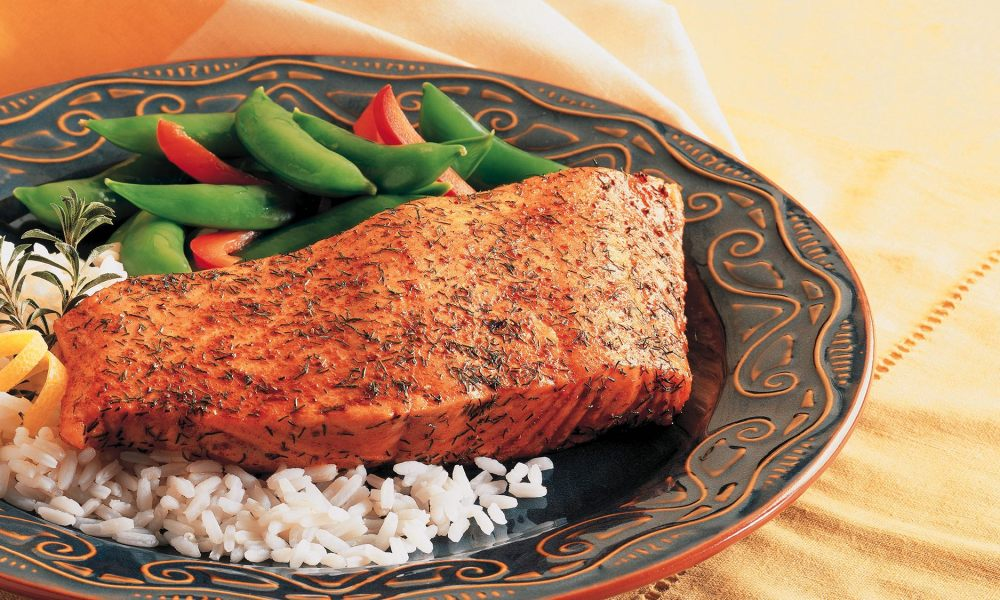 Old Bay® Baked Crusted Salmon courtesy of McCormick
