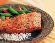 OLD BAY Baked Crusted Salmon Recipe