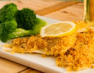 Crunchy Panko Crumb-Crusted Baked Fish