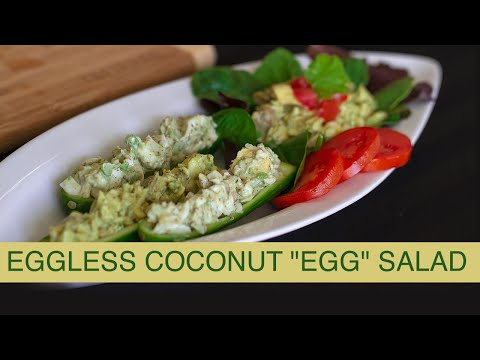 Eggless Coconut Egg Salad
