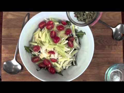 Dandelion, Apple and Fennel Salad