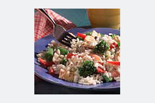 15 Minute Tuna and Rice Primavera