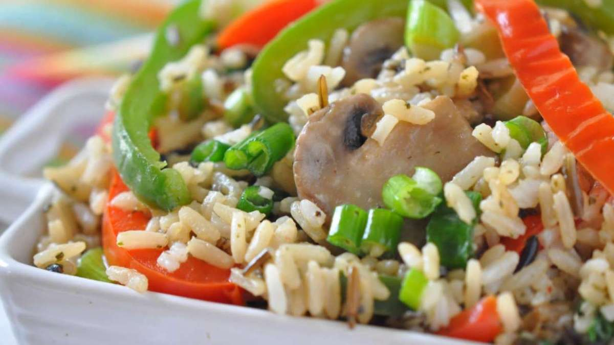 Wild Rice & Peppers