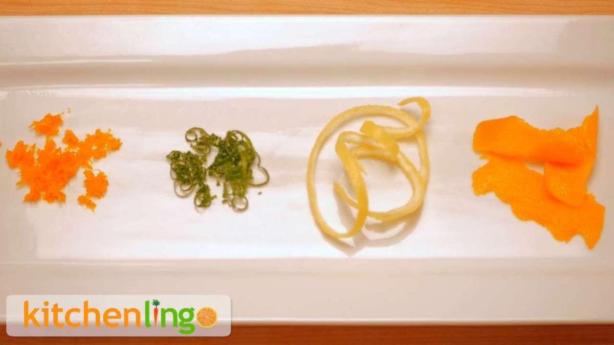 Zest: The KitchenLingo Definition