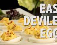 Quick Deviled Eggs
