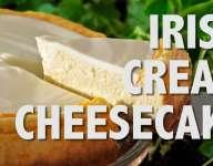 Quick Irish Cream Cheesecake