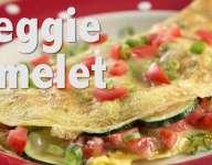 Quick Veggie Omelet