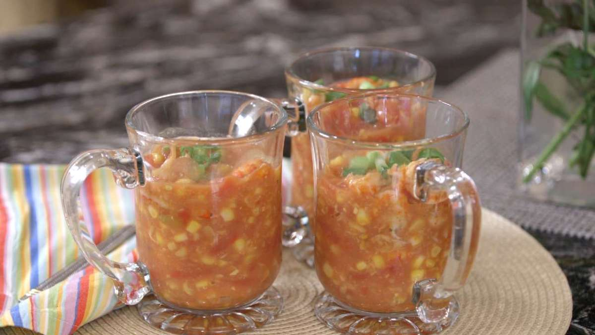 Crawfish Corn Soup