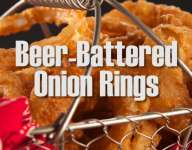 Quick Beer Battered Onion Rings
