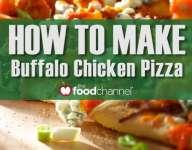 Quick Buffalo Chicken Pizza