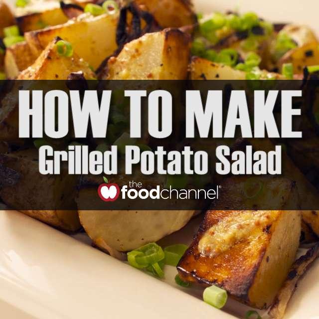 Quick Grilled Potato Salad