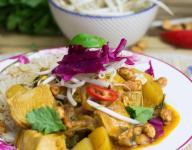 Thai Massaman Curry With Turkey Leftovers