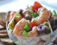 Marinated Shrimp and Artichokes