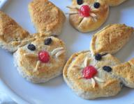 Easy Bunny Biscuits for Easter