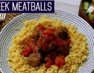 Greek Meatballs with Orzo Pasta