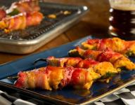 Darlington Pimento Cheese Stuffed Jalapenos with Candied Bacon