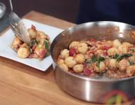 Healthy Vegan Stir Fry with Gnocchi