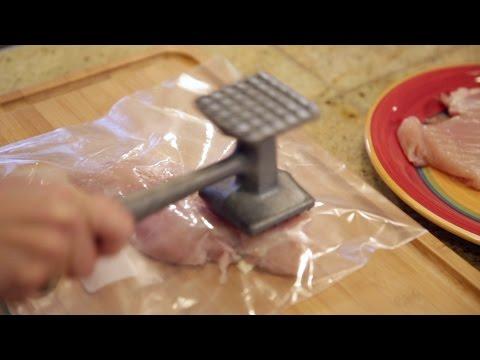 Clean Way to Pound Chicken