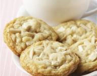 Almond White Chocolate Chunk Cookies Recipe