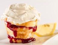 Lemon Cheesecake Angel Food Muffin