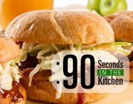 90 Second Applewood Smokehouse Sandwich