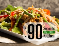 90 Second Asian Chicken Salad