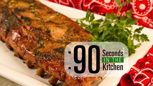 90 Second Baby Back Baked Ribs