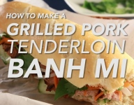 How To Make A Grilled Pork Tenderloin Banh Mi