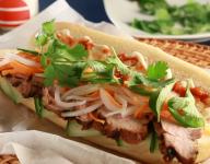 Grilled Pork Tenderloin Banh Mi