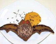 Blue Bunny Bat Ice Cream Cookie