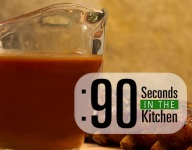 90 Second Balsamic BBQ Sauce