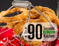 90 Second Beer Battered Onion Rings
