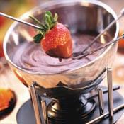 Bittersweet Chocolate Fondue Recipe