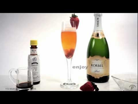 Mixology Champagne Cocktail