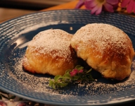 Blueberry Puff Cakes (Eccles Cakes)