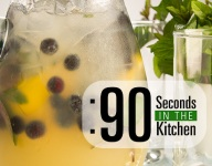 90 Second Blueberry Lemonade