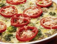 Broccoli and Potato Frittata