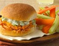 Buffalo Chicken Party Sandwiches