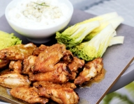 Perfect Grilled Buffalo Wings