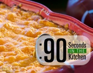 90 Second Buffalo Chicken Cheesy Dip