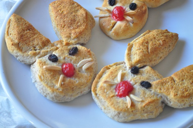 Easy Bunny Biscuits