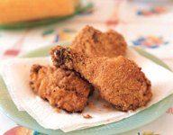 Buttermilk Cornmeal Fried Chicken