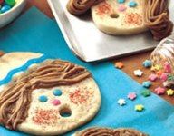 Caroling Kids Cookie Recipe