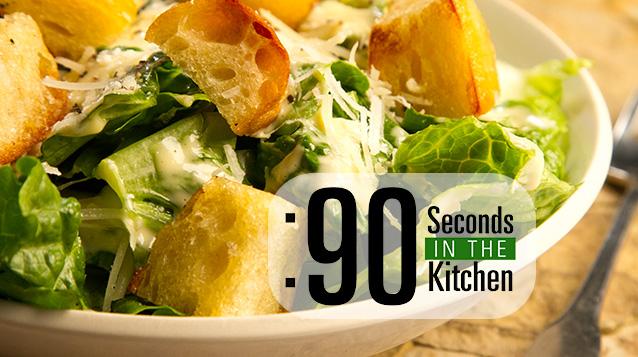 90 Second Caesar Salad