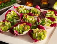 Parmesan Celery Walnut Salad