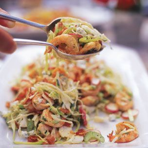 Celery Slaw with Shrimp