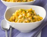 Cheesy Green Onion Corn Saute