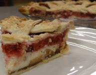 Cherry Cream Apple Pie