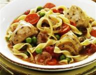 Chicken and Noodles Italian Style