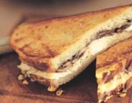 Chicken Mushroom and Gruyere Grilled Sandwiches